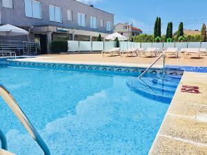 Desinfección de piscinas en hoteles