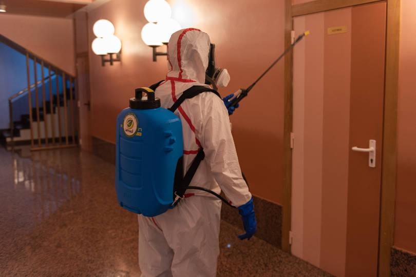 Desinfección comunidades de vecinos Zaragoza